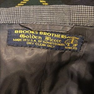 BROOKS BROTHERS Custom Made Golden Fleece Suit 41